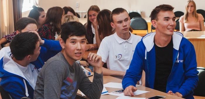 «Молодая Гвардия» провела для студентов интеллектуальную игру