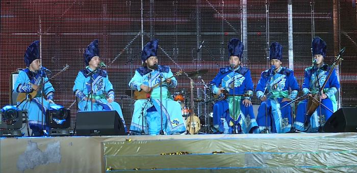 Алтайские сказители выступили на международном фестивале в Казахстане