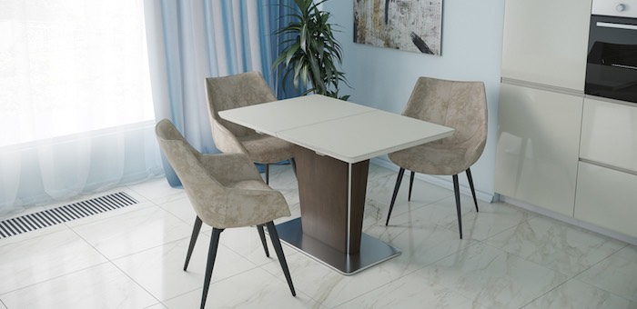 Стеклянная столешница для обеденного стола: а есть ли недостатки?