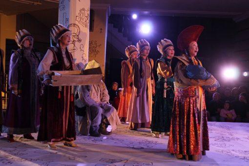 «Маадай-Кара» дал старт проекту театральной визуализации эпосов народов Евразии