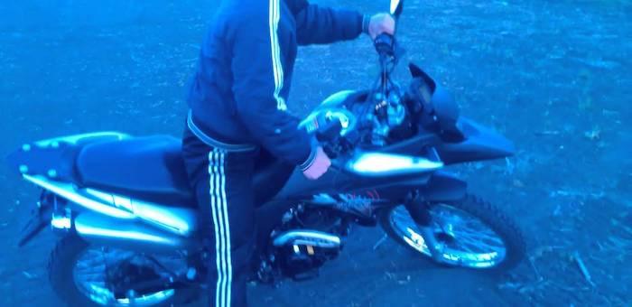 Катание на мотоцикле закончилось трагически для жителя Чибита