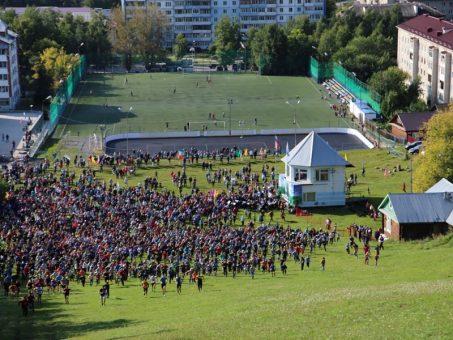 Почти три тысяч человек поднялись на Тугаю в День города