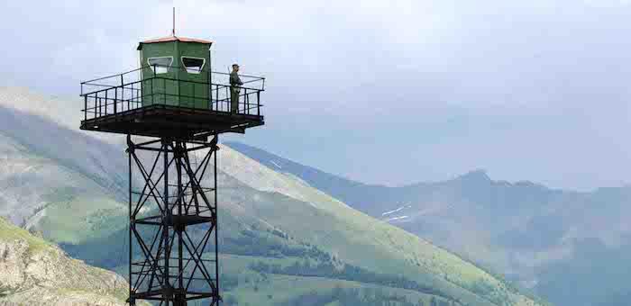 Российские и казахстанские пограничники провели совместную спецоперацию