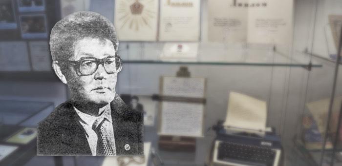 В музее открылась выставка, посвященная писателю Дибашу Каинчину