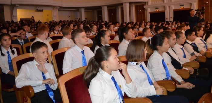 120 восьмиклассников посвятили в лицеисты
