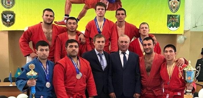 Алтайские пограничники успешно выступили на чемпионате по самбо в Казахстане