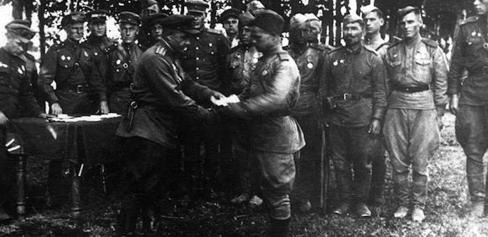 Сын алтайского «кулака» отличился в боях за освобождение Прибалтики