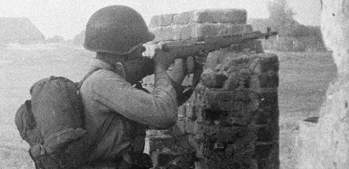 Отважный воин из Ело освобождал Смоленщину и Прибалтику