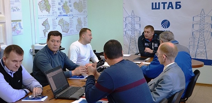 В Горном Алтае продолжаются учения энергетиков МРСК Сибири