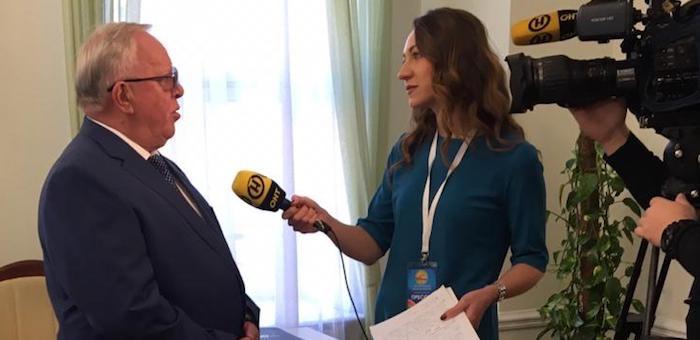 Александр Бердников принимает участие в работе V Форума регионов России и Белоруссии