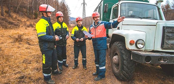 Бригады «Омскэнерго» перевыполнили план по расчистке просек ЛЭП на учениях в Горном Алтае