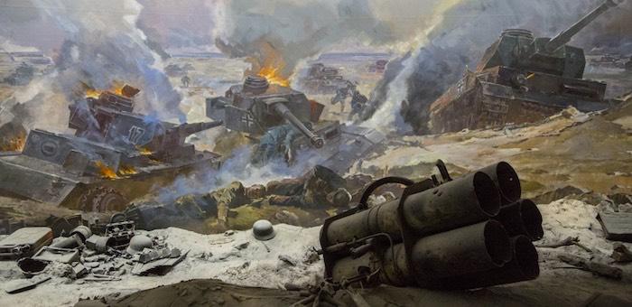 Не допустил прорыва линии обороны у Котлубани
