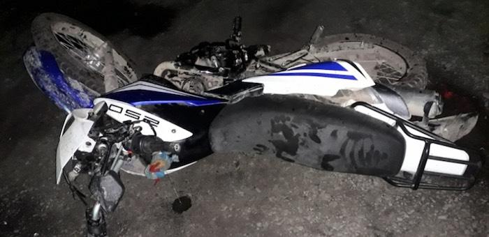 Пьяный полуночный мотоциклист разбился в Усть-Коксе