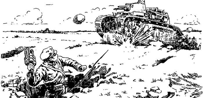 С гранатой против танка и другие ратные подвиги гвардейца Меркитова