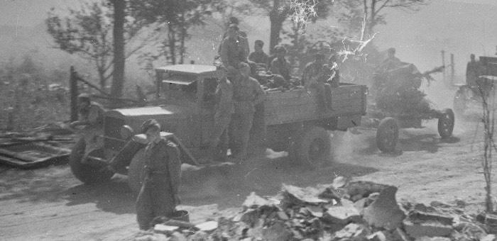 Алтайский шофер отличился в боях за Венгрию, Сербию и Чехию