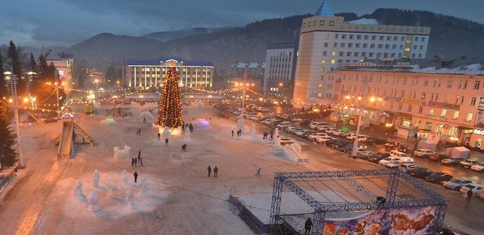 Конкурс на лучший проект снежного городка объявлен в Горно-Алтайске