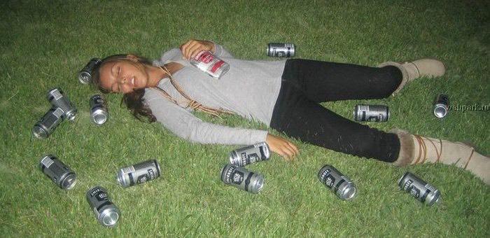 Пограничник спас мертвецки пьяную девушку от гибели