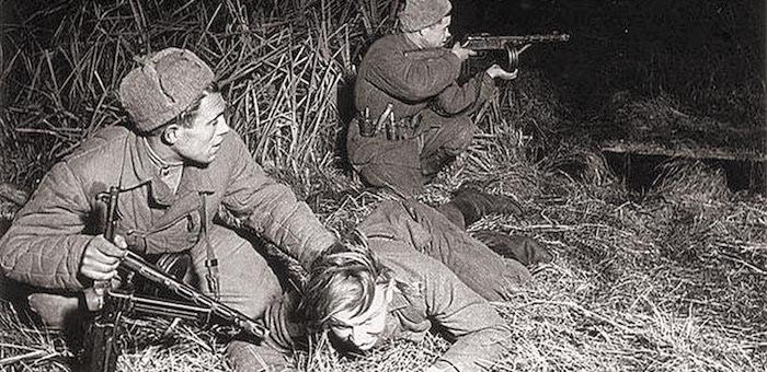 Разведчик Красной армии против «черных сердец» вермахта