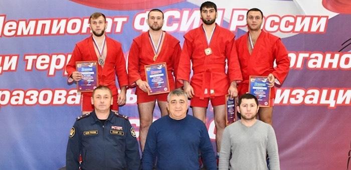 Артем Редькин вновь стал победителем Чемпионата ФСИН России по самбо