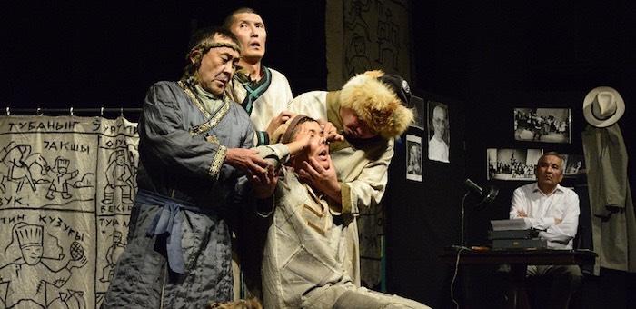 Артисты алтайского театра побывали с гастролями в Калмыкии