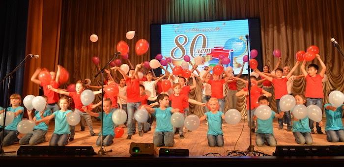 80-летие лицея N6 отпраздновали в Горно-Алтайске
