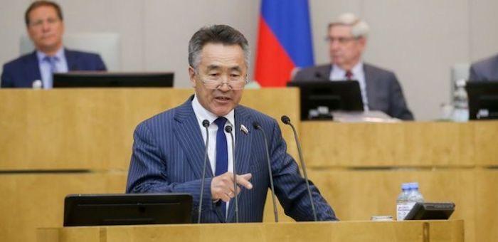 Иван Белеков выступил на пленарном заседании Госдумы