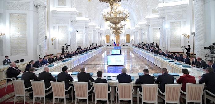 Александр Бердников принял участие в заседании рабочей группы Госсовета