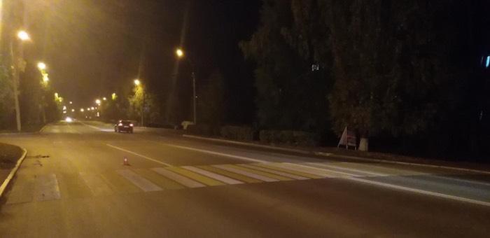 Горожанка на «Тойоте» сбила на пешеходном переходе девушку