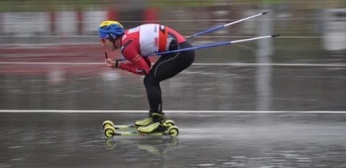 Денис Иродов стал победителем Первенства Алтайского края по биатлону на лыжероллерах