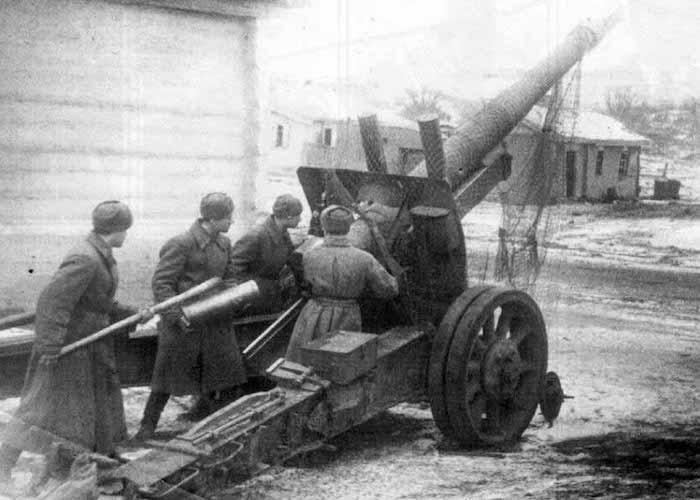 Исключительная энергия алтайского артиллериста в боях за освобождение Киева