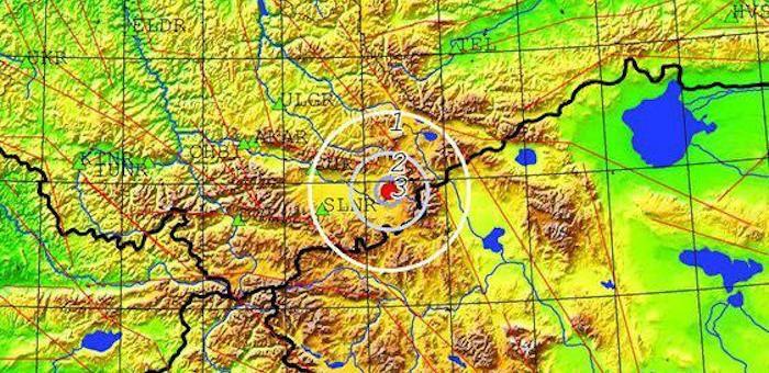 Ночью в Кош-Агачском районе произошло землетрясение