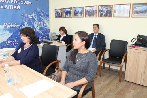 В Республике Алтай прошел Единый день приема родителей дошкольников