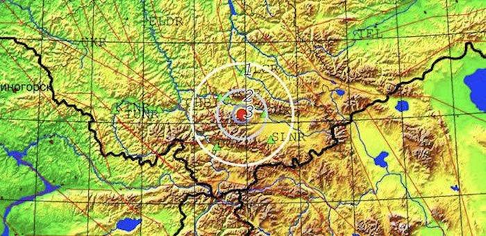 Второе подряд землетрясение произошло в Кош-Агачском районе