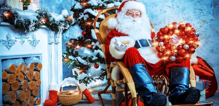 Дед Мороз вышел на связь с Горным Алтаем