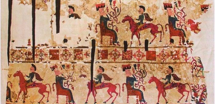 Реконструированный пазырыкский ковер выставят в Национальном музее