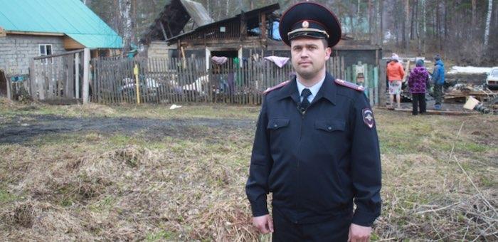 Онгудайскую полицию возглавил офицер, спасший на пожаре жизни пяти человек