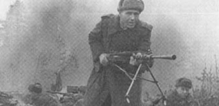 Беспощадно громил фашистскую нечисть в боях за Житомир