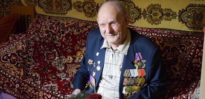 Участник Курской битвы Иван Пашков празднует 95-летие