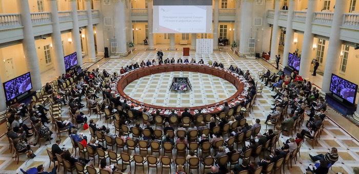 Делегация Горного Алтая участвует в работе Международного культурного форума