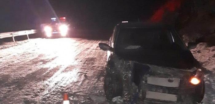 Toyota и Hyundai столкнулись в Онгудайском районе