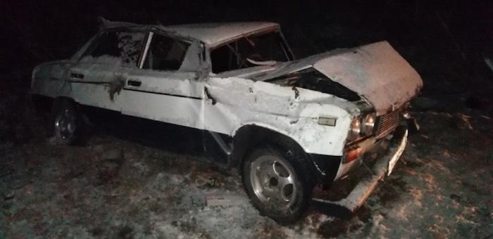 Пьяный водитель перевернул машину, две маленькие девочки попали в больницу