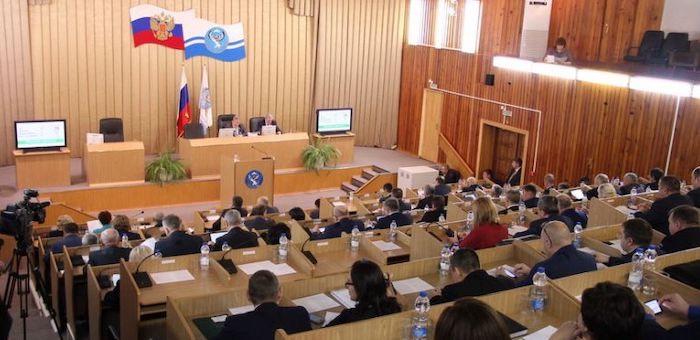 Депутаты приняли бюджет в первом чтении
