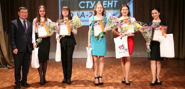 Победителем конкурса «Студент года» стала Екатерина Ершова