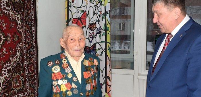 99-летнего участника московской битвы поздравили с годовщиной наступления под Москвой
