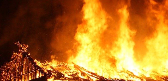 Свыше 900 голов скота заживо сгорело в загоне около Жана-Аула