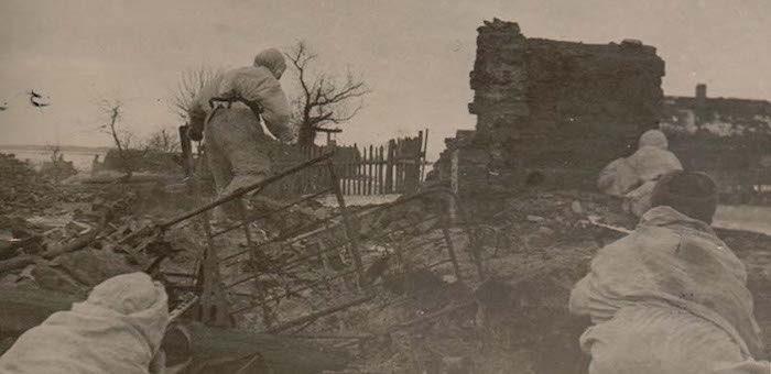 Героизм алтайских воинов на подступах к Гомелю