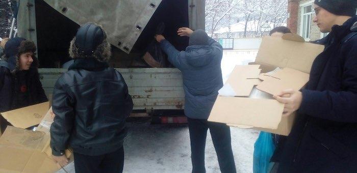 В Горно-Алтайске собрали 1350 кг макулатуры