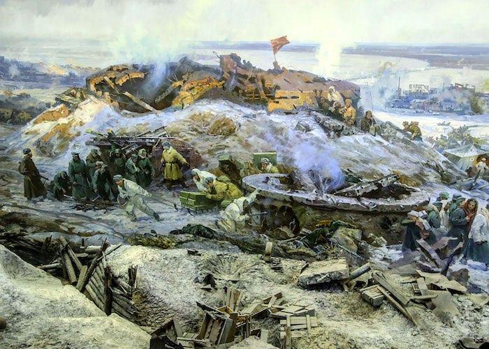 Подвиги лейтенанта Каташева в боях на Мамаевом кургане