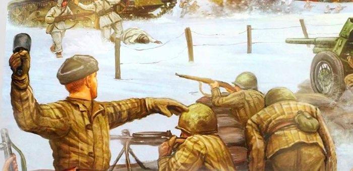 Гранатами уничтожил расчет станкового пулемета противника