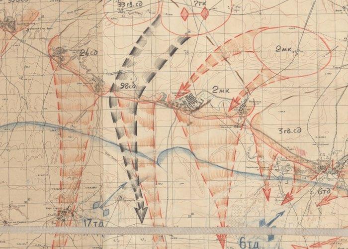 Отразили атаку 125 немецких танков